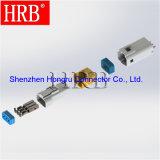 Câbler pour embarquer le connecteur automatique imperméable à l'eau de 3 bornes