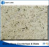 SGSのレポート(単一カラー)を用いるテーブルの上の固体表面のための人工的な石造りの建築材料