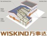Material de la luz de la estructura de acero fábrica derramada, estructura de acero fábrica profesional
