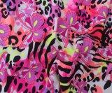 Tissu en nylon de Spandex d'impression floraux de bonne qualité