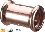 Kupferne Presse passende T-Kupplung Verkleinerung 28