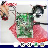 Placa de circuito impresso para PCB Kntech Kn518 Kit de cartão VoIP Montagem em superfície