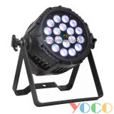 диско PAR Light 18*10W Waterproof RGBW 4in1 СИД