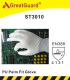 Высочайшее качество PU перчатки (CE сертифицирована)