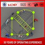 Fabricado na China Aço Galvanizado Kids Ginásio de Esportes de equipamento de fitness