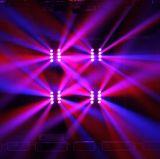 lumière principale mobile de faisceau principal d'araignée de 8*10W RGBW DEL 8 pour l'éclairage du DJ d'éclairage de club