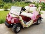 Автомобиль венчания автомобиля гольфа Seaters всего сбывания 2 электрический