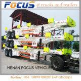 Los vehículos de foco-- Venta caliente 60t chasis Terminal esquelética/ Astillero tráiler