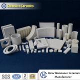 Revestimientos cerámicos de alúmina / Partes de Desgaste de cerámica resistente