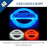 Свет значка логоса автомобиля 4D СИД для Nissan