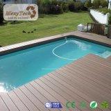 2017 tarjeta al aire libre de madera del Decking del compuesto WPC de los nuevos productos