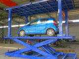 Scissor o elevador do carro para o estacionamento do carro