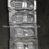 Vier Becken-doppelte Schreibdichte PU-Maschine für die Schuh-Herstellung