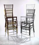 Hölzerner oder Harz Chiavari Hochzeits-Stuhl