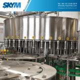 350ml는 가스 음료 액체 충전물 기계를 병에 넣었다