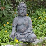 Colore Buddha della pietra di simulazione della decorazione del giardino da vendere