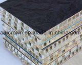 Panneaux en aluminium en stratifié d'âme en nid d'abeilles de pression pour la décoration marine de bateau