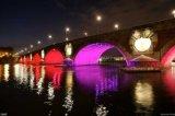 Luz de inundación al aire libre de 360watt LED RGB con control de DMX
