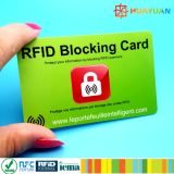 Protection de la carte de crédit HUAYUAN Anti voleur Blocker carte RFID