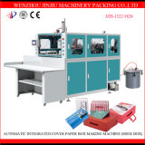Cadre uni automatique érigeant la machine