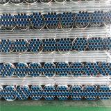 ASTM A53 Gr. B Gpe Sch10 Kohlenstoff verlegtes galvanisiertes Stahlrohr mit geschraubtem und Socketed Ende