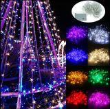 50m 400 светодиодный индикатор строки высокого напряжения Водонепроницаемый светодиодный индикатор строки Рождества