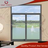 Fenêtre coulissante en verre en aluminium de haute qualité