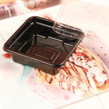 Personalizar claramente o bolo que empacota a caixa plástica da bacia (a fábrica de China)