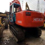 Het gebruikte Graafwerktuig Zx200 van Hitachi Ex200 van de Tweede Hand van de Apparatuur van de Bouw voor Verkoop