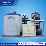 Fertigung wassergekühlt mit frisches/Meerwasser-Flocken-Eis-Maschine