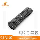 teclado sin hilos de /Laptop del teclado 2.4G/del teclado de ordenador/teclado sin hilos del ratón para la PC, TV elegante, rectángulo androide de la TV (ZW-51024)