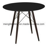 Proveedor chino ronda moderna mesa de comedor de madera