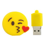 Nova chegada Emoji grossista barato USB Flash Unicorn Pen Drive Cartoon Bonitinha Poops USB caneta