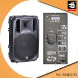 15-дюймовый 350W цифровой усилитель EQ Bluetooth для iPod пластиковые активный громкоговоритель PS-1515depd PA