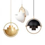 Hot Sale salle intérieure de la lampe de nouvelle conception de l'éclairage de la poignée en aluminium
