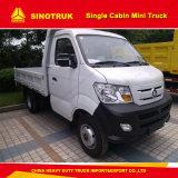 Sinotruk Cdwの小型軽トラックの残されるか、または右駆動機構1トン