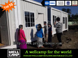 Wellcamp einfach, vorfabriziertes Behälter-Haus/Site-Büro zu installieren