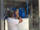 Poste d'essence normal d'essence du mobile CNG dans le conteneur