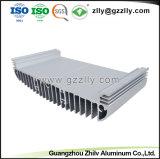 Extrusão de alumínio de alta qualidade personalizada para o dissipador de calor com o ISO9001