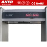 Detetor de metais o mais barato inovativo do frame de porta do tipo de Aner do preço para o controlo de segurança
