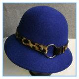 Form-Wolle-Filzcloche-Dame Hat für Winter