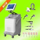 Equipo médico de la belleza de la pérdida de peso del BALNEARIO del cuidado de piel de la salud de la cavitación del RF del vacío del laser
