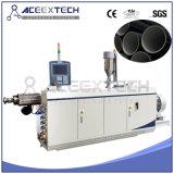 Água do PE/máquina plástica da extrusora tubulação da drenagem/gás