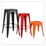 Patio con jardín Home Hotel Office Metal Color teca Polywood mesa y silla de comedor (J833)