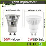 2017 ampoule blanche fraîche neuve de projecteur des ampoules 7W (équivalent de l'éclairage LED GU10 d'halogène 60W) avec le boîtier en céramique