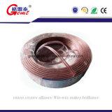Cabo transparente do altofalante para o dispositivo/altofalante audio/equipamento elétrico
