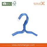 Bride de fixation enduite de fil de PVC de bleu mince en gros