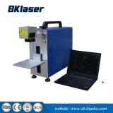bewegliche Faser-Laser-Markierungs-Maschine des Metall20w für Schmucksachen