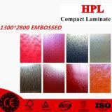 Panel de HPL grabado