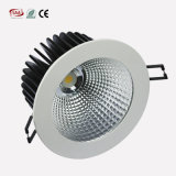 230V MAZORCA ahuecada Dimmable LED 18W Downlight con 120m m cortado
